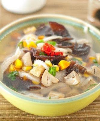 Sup Jamur Sup Jamur Resep Sup Makanan Dan Minuman