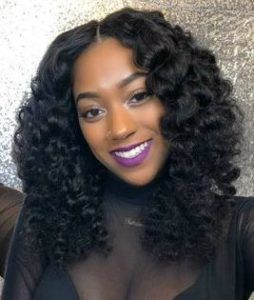 Quick Weave Curly Hair Styles Quick Weave Curly Quick Weave Hairstyles Curly Hair Styles