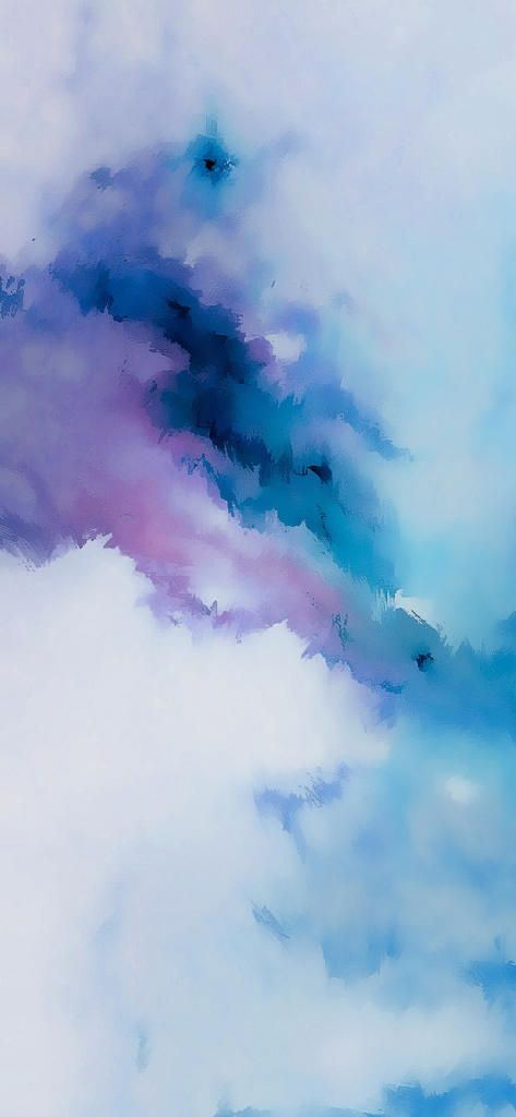 Iphone X 4k Wallpaper Abstract Dark Blue Purple White Watercolor
