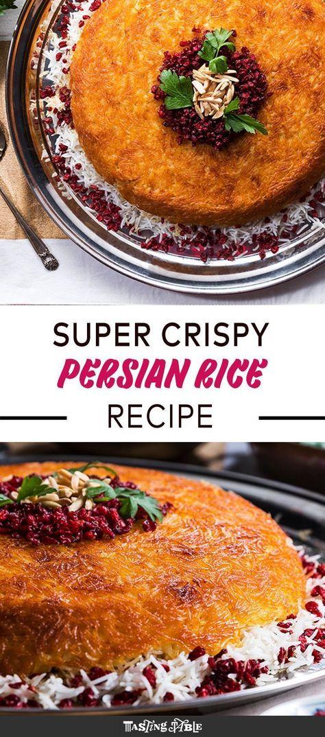 Baked Persian Rice (Tahchin)