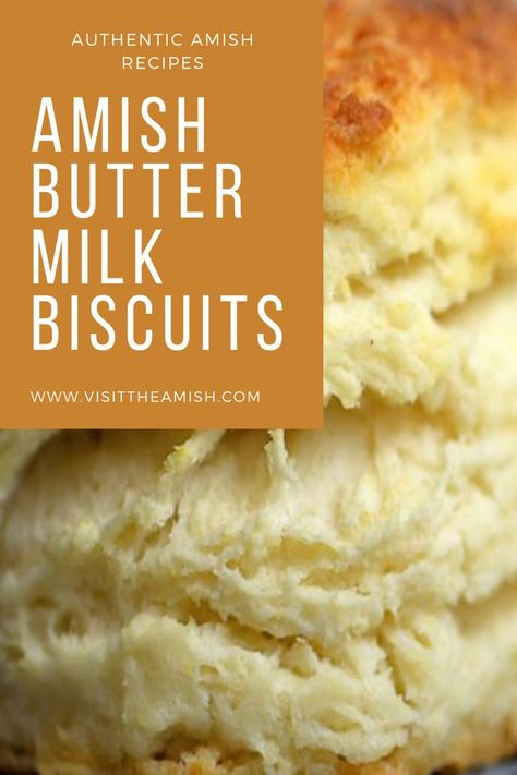 Amish Buttermilk Biscuits Fresh, homemade buttermilk biscuits are the perfect complement to your dinner! Amish Donuts Recipe, Best Biscuit Recipe, Homemade Buttermilk Biscuits, Buttermilk Recipes, Recipe For Homemade Biscuits, Buttermilk Cookies, Best Buttermilk Biscuits, Amish Butter, Pennsylvania Dutch Recipes