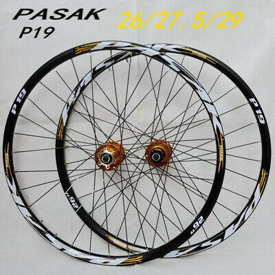 Details About 26inch Mtb Mountain Bicycle 2 Rear 4 Sealed Bearings Disc Wheels Wheelset Rim 27 In 2020 With Images Mountain Bicycle