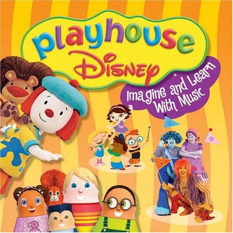 Playhouse Disney - Imagine & Learn with Music<<<These are my childhood tv shows. Right In The Childhood, Childhood Tv Shows, My Childhood Memories, Disney Viejo, Old Disney Channel, Disney Music, Disney Movies, Disney Junior, Disney Jr