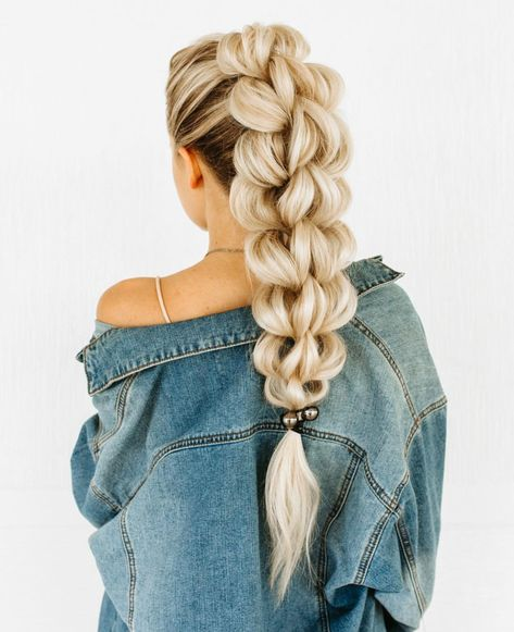 Beautiful Braided Hairstyles Are Available For Almost Every Hair Length 2019 - Braids hairstyles are more fashionable than ever. , Beautiful Braided Hairstyles Are Available For Almost Every Hair Length 2019 Braided Ponytail Hairstyles, Box Braids Hairstyles, Latest Hairstyles, Blonde Hairstyles, Braid Ponytail, Cute Hairstyles For Teens, Fashion Hairstyles, Beautiful Hairstyles, Hairstyle Ideas