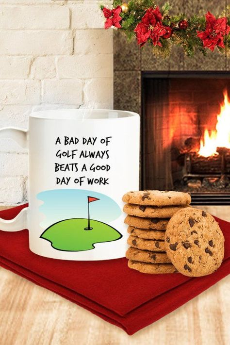 Fathers Day Golf Gift Humor Gifts Dad Birthday For Men Mugs With