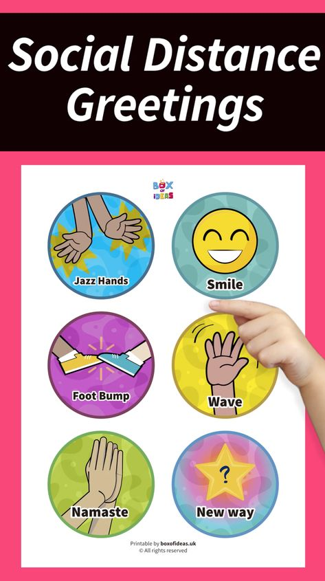 As social distancing activities for kids at school, say good morning with a social distance classroom greetings choices poster for kids that return to school after lockdown. Read for 15 non-contact social distancing greetings for kids. Build classroom community from the first day of school with a social distancing poster for kids. When back to school teachers can greet students or have a good morning social distancing greeting student. #socialdistance #classroomsetup #tpt #backtoschoolpreschool Classroom Jobs, Classroom Behavior, Kindergarten Classroom, Classroom Activities, Classroom Management, Classroom Libraries, Back To School Teacher, 1st Day Of School, Beginning Of The School Year