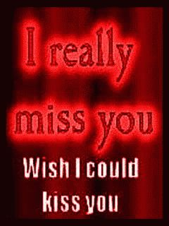 IMiss You Wish ICould Kiss You GIF - IMissYou WishICouldKissYou Love - Discover & Share GIFs