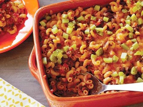 Rachael's Sloppy Joe Casserole with Macaroni #RecipeOfTheDay