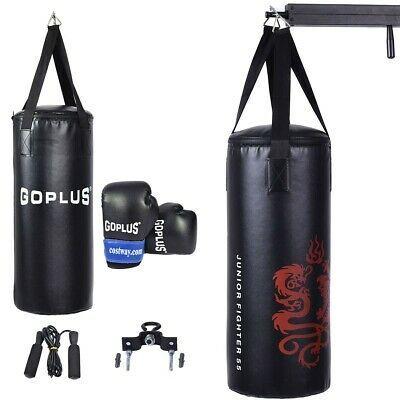 Inflatable Punching Bag Free Standing Tough Guy Kids Boxing Kicking Practice