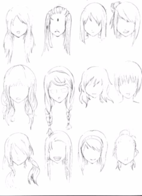 Anime Braided Hair : anime, braided, Reference, Anime,, Manga,, Drawing,, Sketch,, Hairstyle,, Braid,, Long,, Short, [tenzen888, @deviantart], Braids, Drawing, Refer…