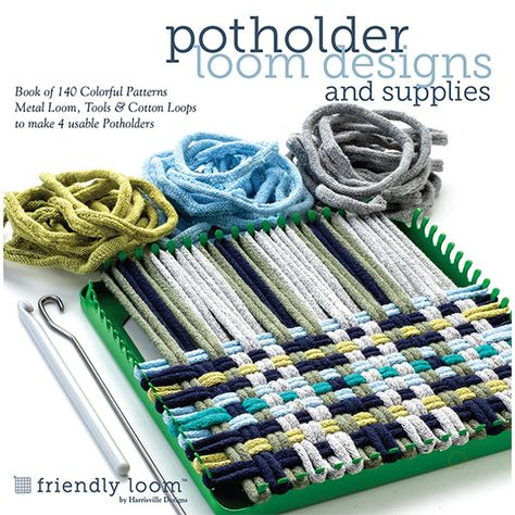 Potholder Loom Designs and Supplies Kit
