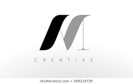 A M Letter Logo Design Creative Modern Am Letters Icon Illustration