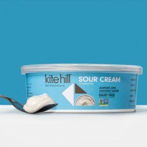 Kite Hill Sour Cream Alternative Reviews Info Dairy Free Soy Free In 2020 Sour Cream Dairy Free Sour Cream Alternative