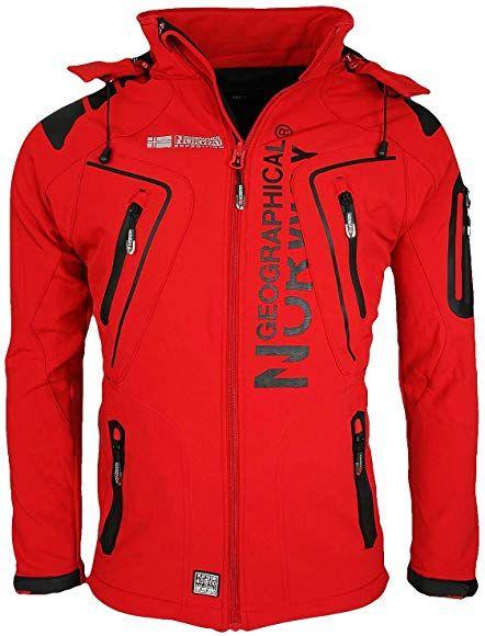 hot-vente dernier caractéristiques exceptionnelles baskets Geographical Norway Tambour Men's Softshell Jacket - Black ...