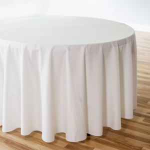 108 In Round Polyester Tablecloth In 2020 Table Cloth Sequin Table Runner Wedding Table Linens