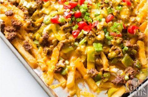 Wauw! Deze Nacho-frietjes zijn echt hemel op aarde