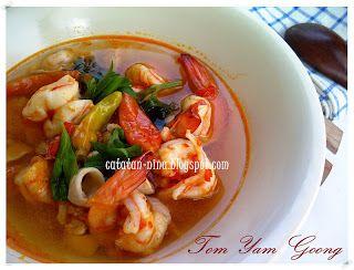 Tom Yam Goong Catatan Nina Resep Masakan Resep Makanan Bayi Resep Makanan