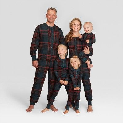 Women S Plaid Holiday Pajama Union Suit Blue 3x Hearth Hand With Magnolia Holiday Pajamas Kids Plaid Holiday Pajama Sets