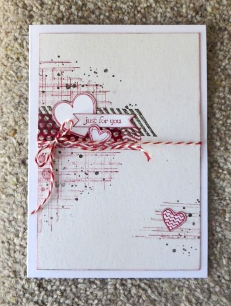 """Cardmaker unknown. Uses stamps from """"Gorgeous Grunge"""" (Stampin' Up)."""