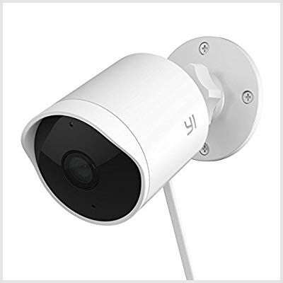Yi Security Wireless Waterproof Surveillance Photo Android App Available Best Ph Home Security Systems Wireless Home Security Systems Outdoor Security Camera