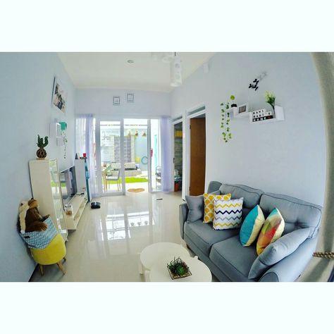 ruang tengah hannibii | ide dekorasi rumah, rumah, ruang