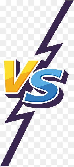 Vs Logo Png : Contrast, Download, Background, Design,, Image