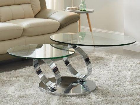 Table basse CLARTY Fibre de verre laquée Coloris blanc