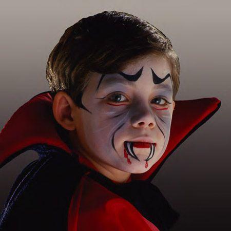 Vampir Halloween Schminken Kinder Vampir Schminken Kinder