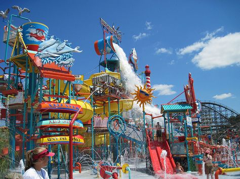 Camelback Mountain Resort, located in Tannersville, Pa., transforms from a ski in the winter to Camelbeach Mountain Waterpark during the summer. Whether visitors desire adrenaline-filled waterslides or just lounging poolside on a hot summer day, t