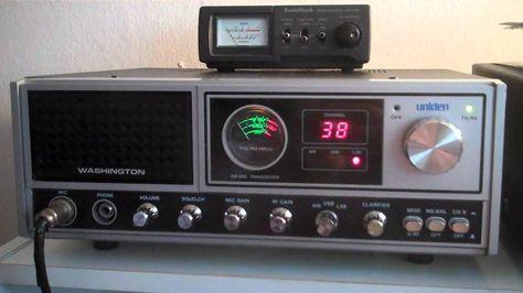 Uniden Washington Cb Radio Dx 4 09 12 Cb Radio Radio Citizens Band Radio