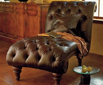 Exceptional Single Leather Heirloom Chaise Lounge   Upholstered   Chairs U0026 Stools    Furniture   NapaStyle | Home | Pinterest | Chaise Lounges, Lounges And  Leather