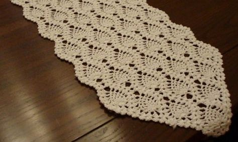 Crochet Table Runners Free Patterns Home History Culture Textiles Clothing Crocheting Pinterest Runner Pattern And