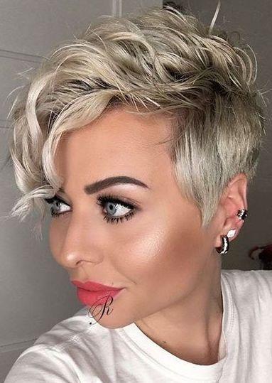 Cool Pixie Haircut For Blonde Curly Hair Haircut For Thick Hair Pixie Haircut For Thick Hair Curly Pixie Haircuts