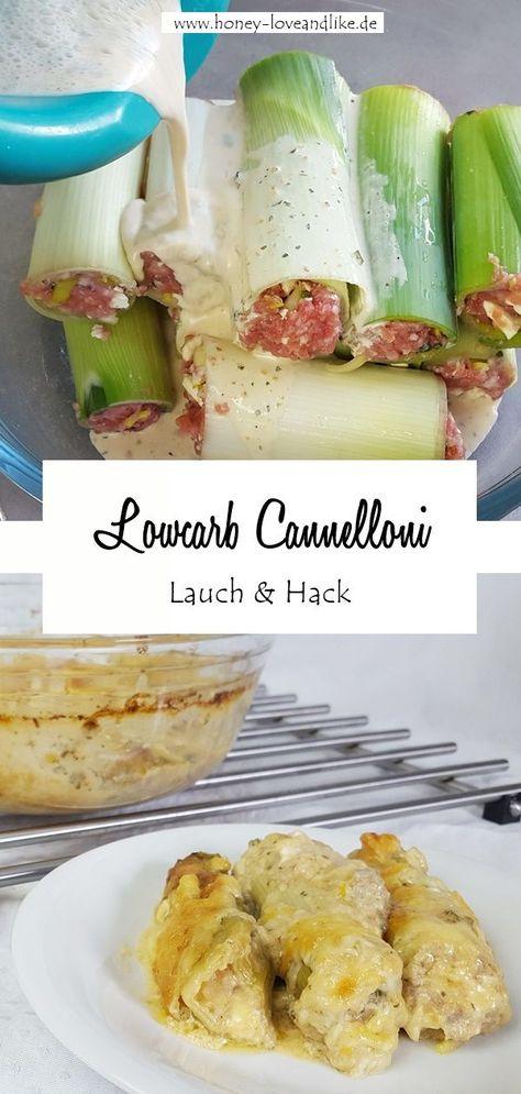 Das war lecker! Lowcarb Cannelloni aus Lauch mit Hackfleisch Füllung #Lowcarb #Cannelloni #LowcarbCannelloni #LauchCannelloni