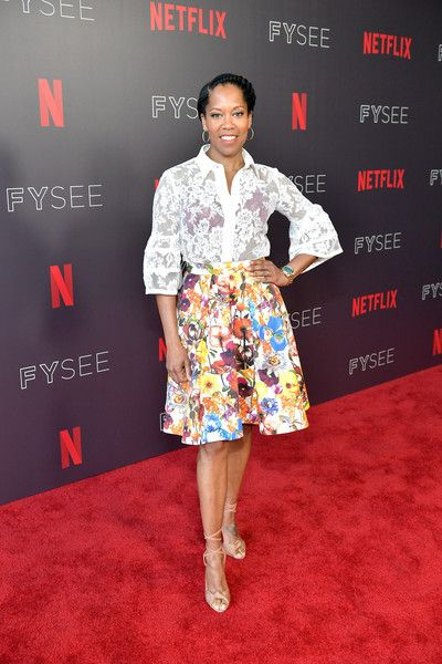 Regina King attends the 'Seven Seconds' panel at Netflix FYSEE.