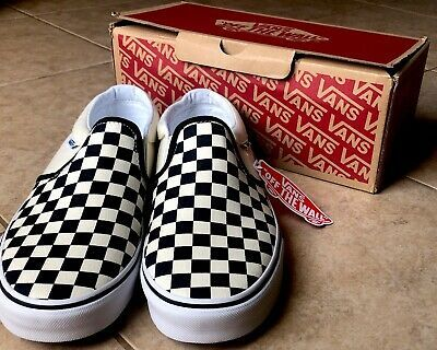 Vans Classic Slip on 'rainbow Checkerboard' Shoes Size 10