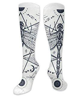 Amazon Com Tattoo Compression Socks Clothing Clothing Shoes Jewelry Socks Shoe Jewelry Casual Socks