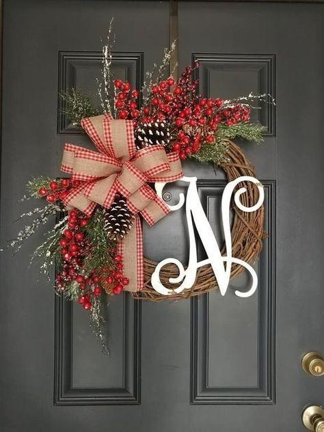 Summer Wreath Front Door Wreaths