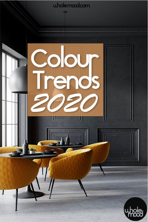 Trend Alert! Colour Trends for 2020