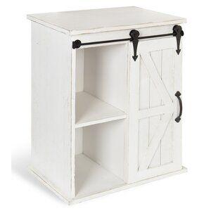 Westhoff 1 Door Accent Cabinet Freestanding Storage Cabinet Wall Storage Cabinets Farmhouse Cabinets