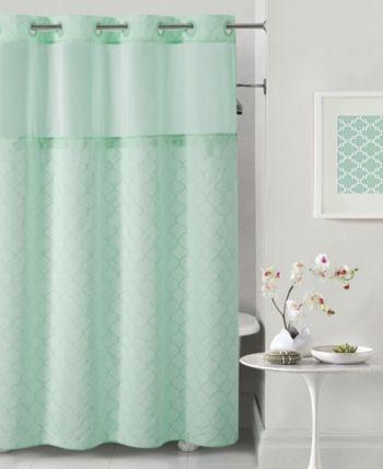 Hookless Mosaic 3 In 1 Shower Curtain Bedding Hookless Shower