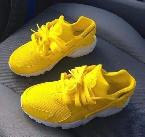 Image of Sun Yellow Huaraches 💛⛅️