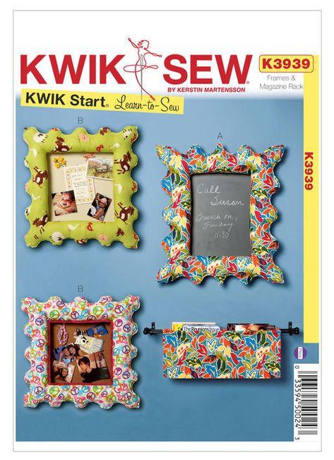 KWIK SEW PATTERN DECORATIVE PILLOW 3 DESIGNS WITH ZIPPER OPENINGS # K4051