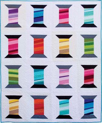 Orlando Modern Quilt Guild Block Of The Month Thread Spools Mini Quilt Patterns Spool Quilt Quilt Square Patterns