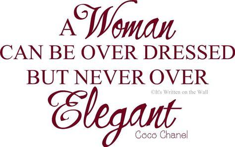 Wisdom of Coco Chanel