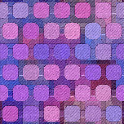 East Urban Home Geometric Wool Pink Purple Blue Area Rug Purple Area Rugs East Urban Home Blue Area Rugs
