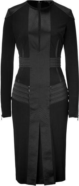 BELSTAFF Black Avebury Dress - Lyst