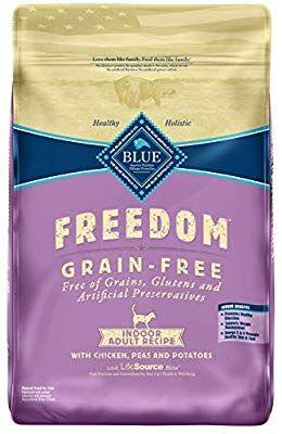 Amazon Com Blue Buffalo Freedom Grain Free Natural Indoor Adult