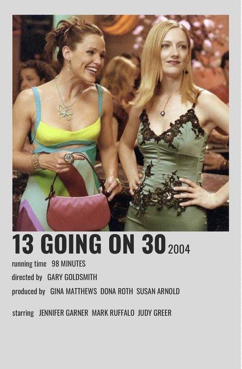 13 Going On 30 Alternative Movie Poster