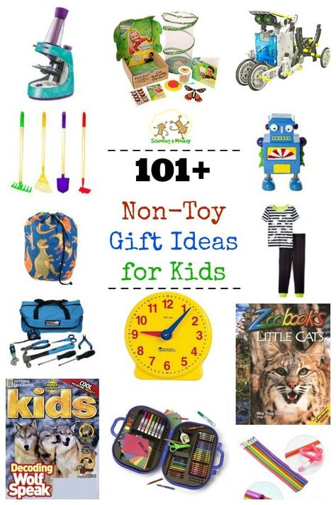 101+ Non,Toy Gift Ideas for Kids
